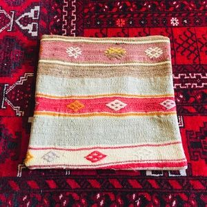 """Authentic Turkish Pillow Cover 100% Wool 16"""" x 16"""""""